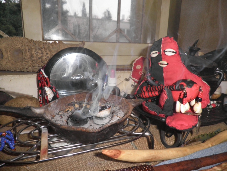 Eshu and Incense